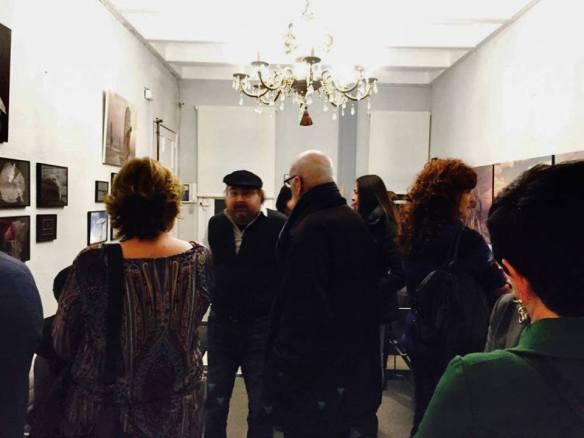 Inauguración de la exposición en Ariza Abogados