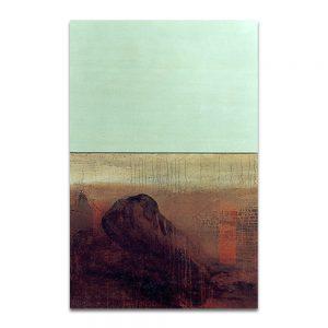 Adanescencia. Técnica mixta sobre lienzo. 151×100 cm.