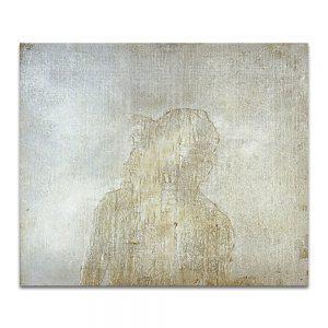 Construcción etérea. Técnica mixta sobre madera. 46 x 55 cm.