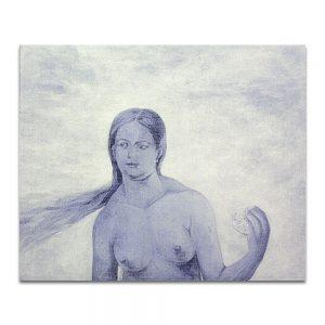 Evaluz. Técnica mixta sobre lienzo. 46 x 55 cm.