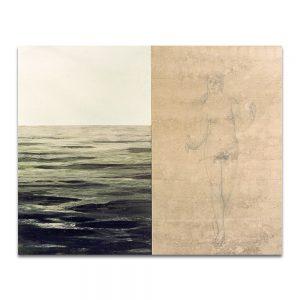 Evanecer. Técnica mixta sobre madera. 120 x 150 cm.