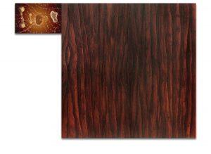 Fusión. Técnica mixta sobre madera, impresión digital sobre lienzo. 120×157 cm.