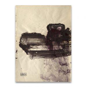 Garnacha # 3.Técnica mixta sobre papel. 41×31 cm.