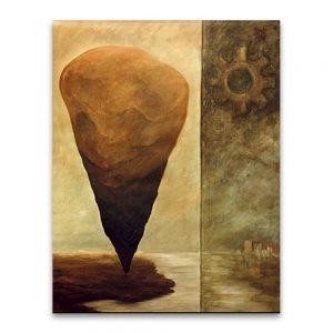 Imperios. Técnica mixta sobre lienzo. 146×114 cm.