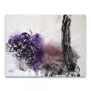 Latencia # 1.Técnica mixta sobre papel. 50×65 cm.