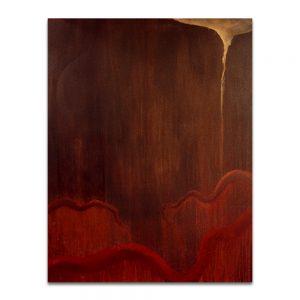 Noche de opio. Acrílico sobre lienzo. 146×114 cm.