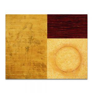Pálpito. Técnica mixta sobre madera. 120 x 150 cm.