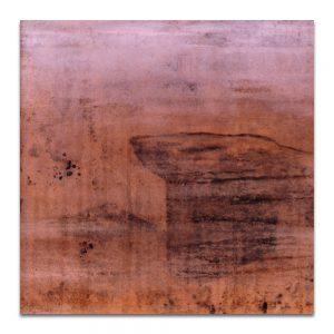 Retrato de aguas. Técnica mixta sobre madera. 40x40 cm.