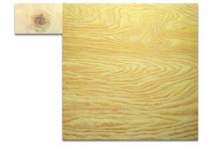 Sublimación. Técnica mixta sobre madera, impresión digital sobre lienzo. 120×157 cm.