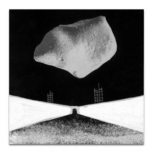 BRUT # 1. collage para plancha litográfica 10x10 cm