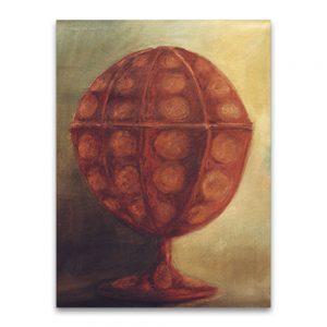 Copa .Técnica mixta sobre lienzo.73x54 cm