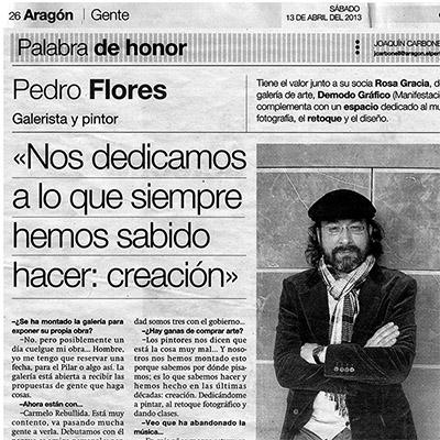 Detalle entrevista El Periódico de Aragón