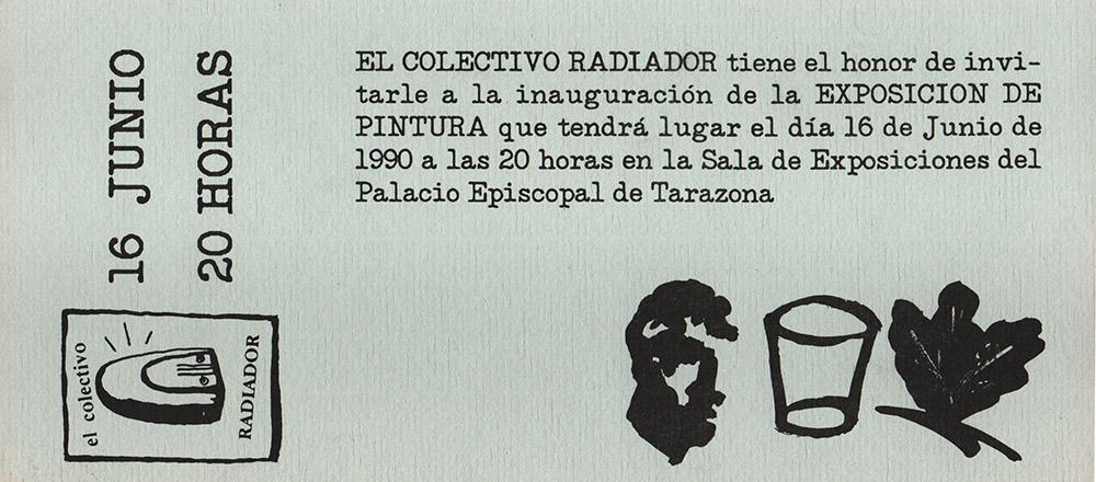 Invitación exposición en la Sala del Centro de Estudios Turiasonenses