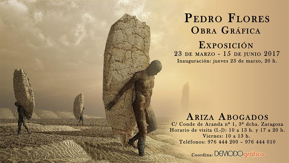 Invitación de la exposición de Obra Gráfica en Ariza Abogados