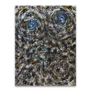 Vincent. Técnica mixta sobre papel. 65x50 cm.