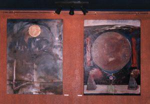 Vista de la exposición La baraja española en la sala Piramys