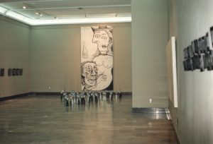 Vista de la exposición Repetición 1 en el Museo de Zaragoza
