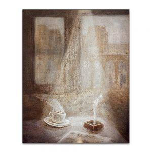 El País. Técnica mixta sobre lienzo. 65×54 cm.