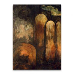 El trauma moderno # 3. Técnica mixta sobre lienzo. 130×97 cm.