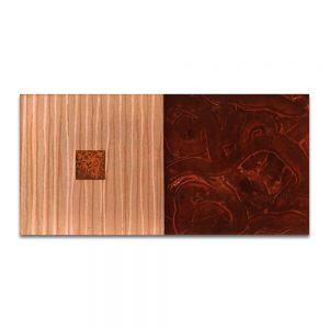Insomnio. Técnica mixta sobre madera. 40x80 cm.