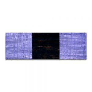 Nubéfares. Técnica mixta sobre madera. 40x80 cm.