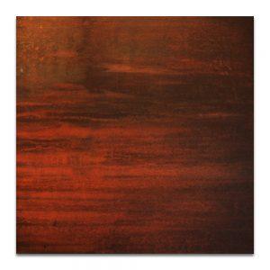 Retrato de aguas II. Técnica mixta sobre madera. 40x40 cm.