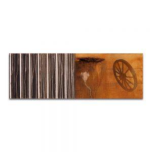 Septialbo. Técnica mixta sobre lienzo. 50x146 cm.