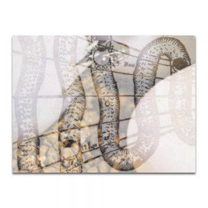 Serpentín 1. Serie La Destilación. Collage digital
