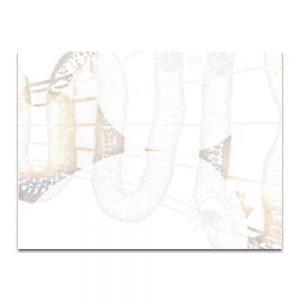 Serpentín 3. Serie La Destilación. Collage digital