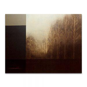 Viento negro. Técnica mixta sobre lienzo. 114x146 cm.
