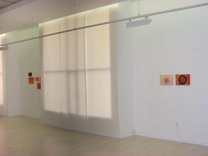 Vista de la exposición La Destilación en la Casa de la Mujer de Zaragoza