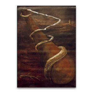 Bastos.Técnica mixta sobre lienzo.91x65 cm