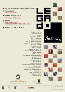 Cartel de la exposición Legado Maturén