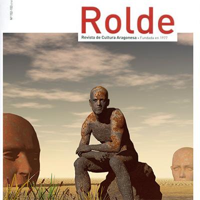 Detalle de la portada de la Revista Rolde número 152-153