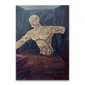 Fictile opus . Acrílico sobre lienzo.73x60 cm