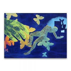 Morfeo. Acrílico sobre lienzo. 97x130 cm