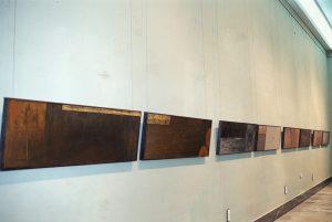 Vista de la exposición Istmos en el Museo de Zaragoza
