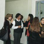 Vista exposición de Pedro Flores en galería Ángela Sacristán