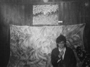 Vista de la exposición El Piter Kantropus en el bar Dream de Zaragoza